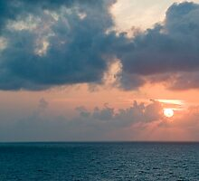 Sunset over the Gulf of Mexico 3 by Bill Perry