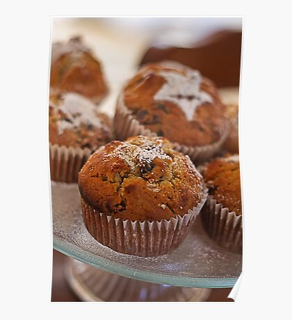 Afternoon Muffins Poster