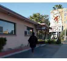Sandman Motel Photographic Print