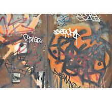 West Broadway Grafitti Photographic Print