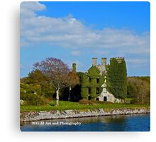 Ireland - Galway Castle Canvas Print