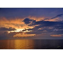 Sunrise over the Gulf of Mexico 7 Photographic Print