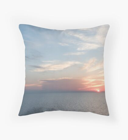 Sunset over the Gulf of Mexico 9 Throw Pillow