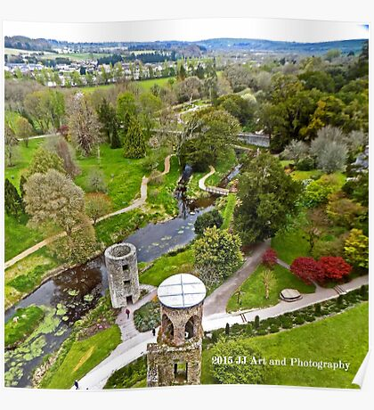 Ireland - View from Blarney Castle Poster