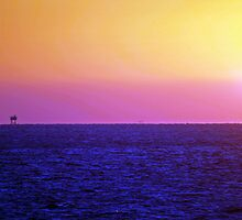Sunset over the Gulf of Mexico 13 by Bill Perry