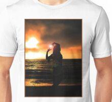 Sunset Silhouette V Unisex T-Shirt