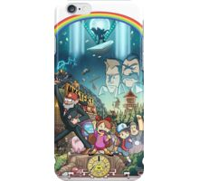 The Town Of Gravity Falls iPhone Case/Skin