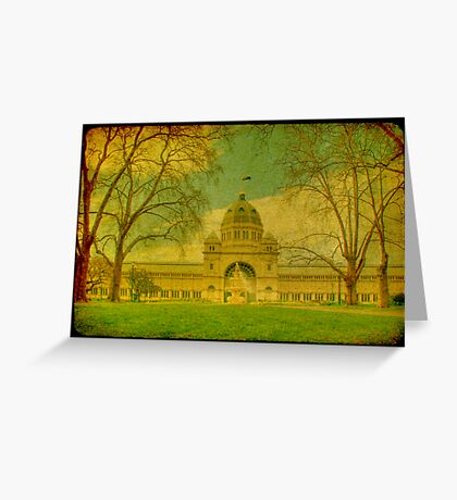 Royal Exhibition Building II Greeting Card