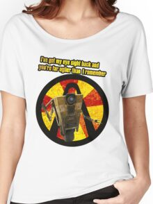CLAPTRAP QUOTES Women's Relaxed Fit T-Shirt