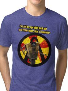 CLAPTRAP QUOTES Tri-blend T-Shirt