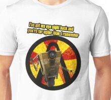 CLAPTRAP QUOTES Unisex T-Shirt