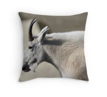 Mutton Chop Goat Throw Pillow