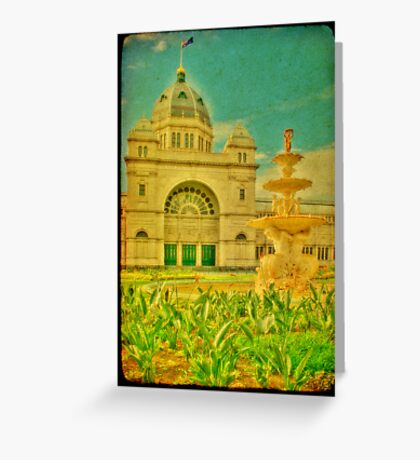 Royal Exhibition Building III Greeting Card