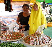 Malaysian Market by snefne