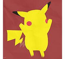 Pikachu (Simplistic)  Photographic Print