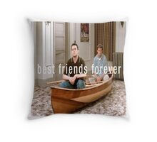 Joey and Chandler  Throw Pillow