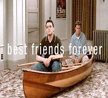 Joey and Chandler  by omfgitsjaime
