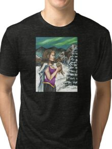 Silent Night Tri-blend T-Shirt