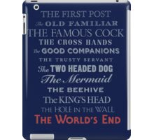 The World's End iPad Case/Skin