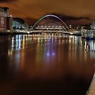 Down on the Tyne by Richard Shepherd