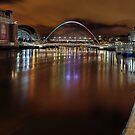 Down on the Tyne by Richard Shepherd