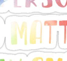 A person's a person no matter how small dr. seuss Sticker