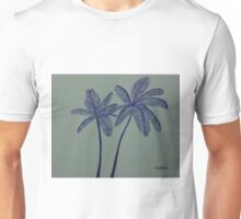 """Warhol Inspired Palm Trees 3"" Unisex T-Shirt"
