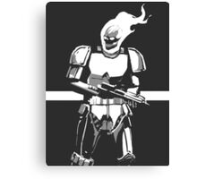 Ghost Rider Storm Trooper Canvas Print