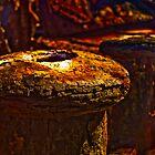 Rusty Bollard 2 by Plonko