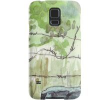 The fencepost Samsung Galaxy Case/Skin