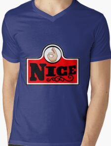 #nice Mens V-Neck T-Shirt