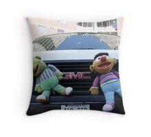Bert and Ernie Throw Pillow