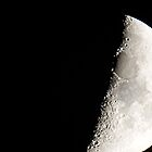 First Quarter Moon by Joe Powell