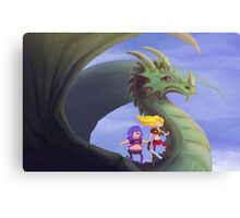 Dragon Rider Canvas Print