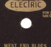 West End Blues Sticker