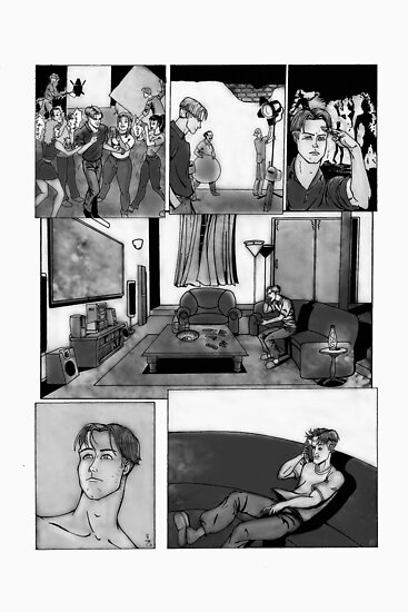 ONE MORE DAY PAGE 1  by morphfix