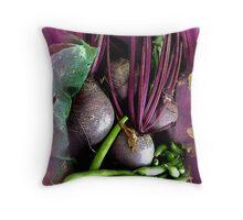 Beetroot Beauty Throw Pillow