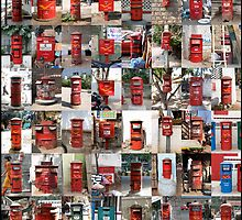 Post Boxes India by Bec Lee