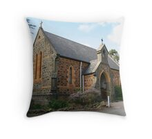 """St Johns Anglican Church, Coromandel Valley"" Throw Pillow"