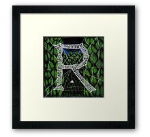 "Zoe the Spider ""R""  Framed Print"