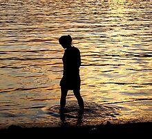 I dropped a tear in sea. by Sunil Bhardwaj
