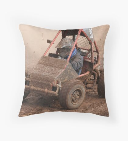Racers eyes Throw Pillow