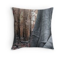 Black Saturday Aftermath Throw Pillow