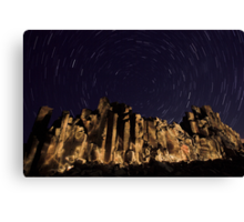 Night at the Cathedral Canvas Print