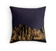 Night at the Cathedral Throw Pillow