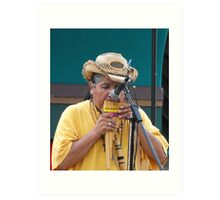 Cinco de Mayo Entertainer Art Print