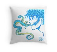 Smoking Lyric Solo Throw Pillow