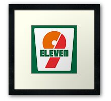 9-Eleven Framed Print