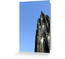 Reaching High Into the Sky Greeting Card