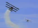 Triplane Dogfight by Colin  Williams Photography